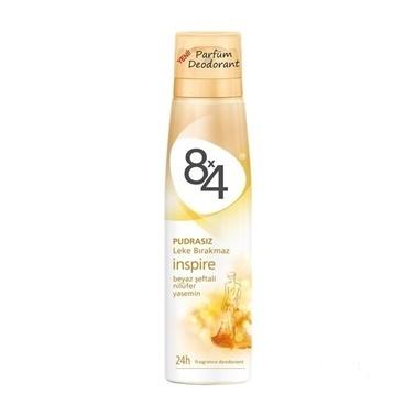 8x4 Inspire Bayan Parfüm Deodorant 150ml Renksiz